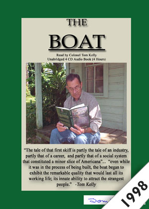 The Boat Audiobook Cover